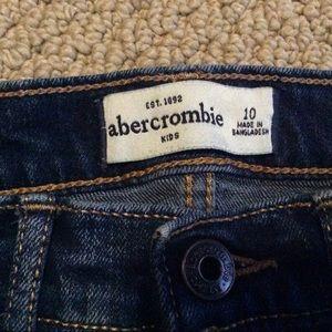 abercrombie kids Bottoms - 🌹SOLD🌹Abercrombie Kids Jean Shorts